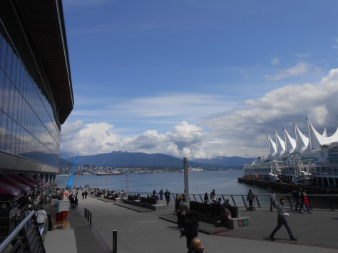 The Vancouver Convention Centre is a wonderful facility with spectacular views