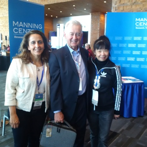 Ghina, her campaign manager May, and the inestimable Preston Manning.